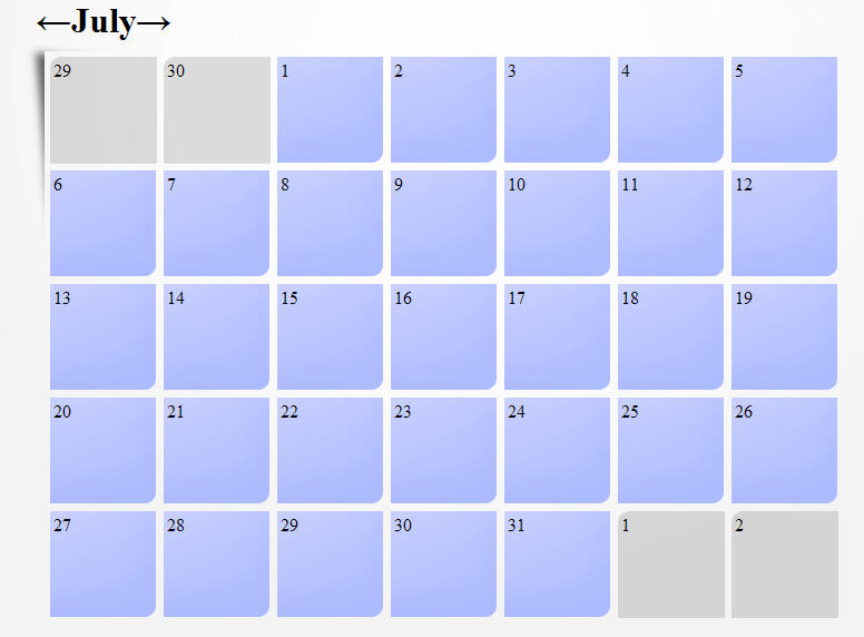 Example Of A Blank Calendar Pictures to Pin PinsDaddy – Sample Calendar