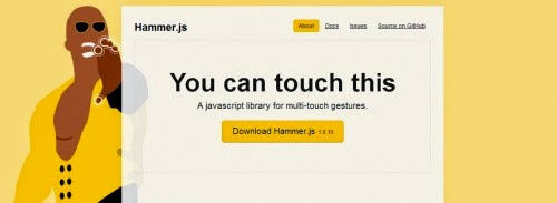 Use Hammer JS to add touch gestures to your XPage