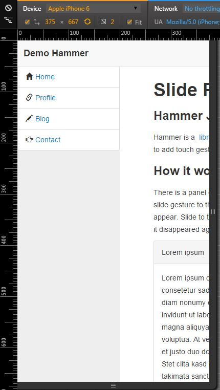 Use Hammer JS to add touch gestures to your XPage – Kwintessential Notes